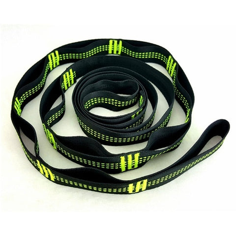 Nylon Webbing Climbing Rope TR-16280 Outdoor Tree Hanging Hammock Strap High Load-Bearing Durable Camping Travel Portable Sling