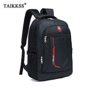 Men Multifunctional Large capacity Student Schoolbag Casual school Backpack Fashion Male Travel Oxford Man's Simple Bag