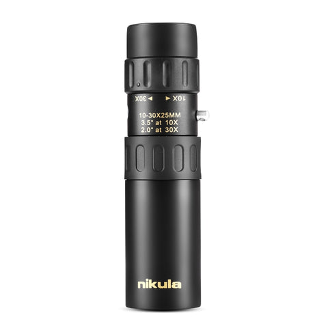 Image of Original binoculars Nikula 10-30x25Zoom Monocular high quality Telescope Pocket Hunting Optical Prism Scope, no tripod