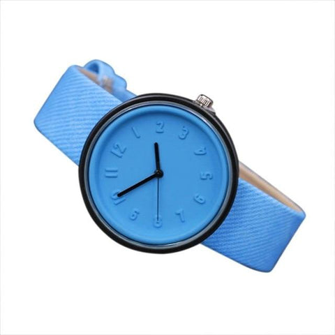 Image of Quartz  Wristwatches Unisex Simple Fashion Hours Luxury Woman Watch