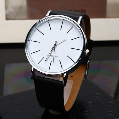 Image of Relogio Masculino Quartz Watch Men Leather Casual Watches Men's Clock Male Sports Wristwatch Montre Homme Hodinky Ceasuri Saat