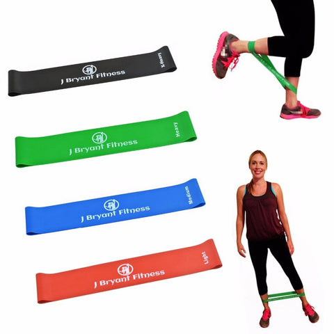 Image of Resistance Bands Rubber Band Workout Fitness Gym Equipment Rubber Loops Latex Yoga Gym Strength Training Athletic Rubber Bands