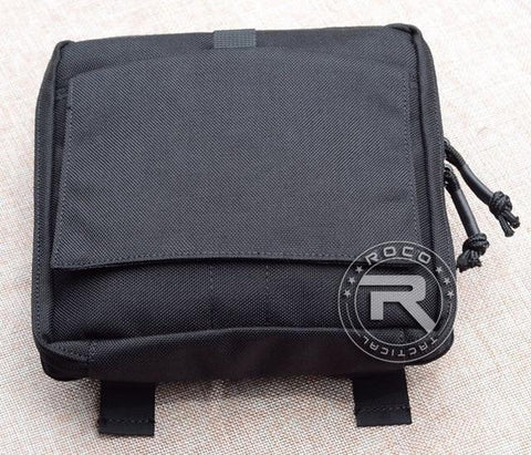Image of ROCOTACTICAL MOLLE EDC Military Low Profile OP Military Utility Accessories Bag Tactical Organizer Stealth Admin Organizer Pouch