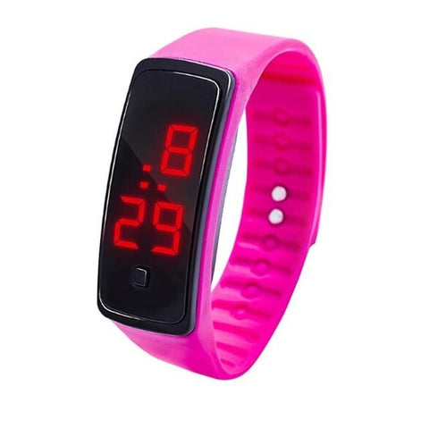 Image of Silicone Led Sports Women's Watches Children Electronic LED Digital Watch Man Ladies Running Sport Men's Watch Clock