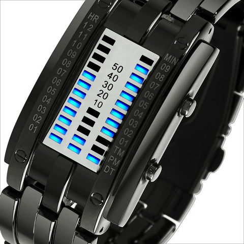 SKMEI Fashion Creative Watches Men Luxury Brand Digital LED Display 50M Waterproof Lover's Wristwatches Relogio Masculino
