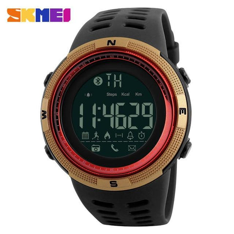 Image of SKMEI Men Smart Watch Chrono Calories Pedometer Multi-Functions Sports Watches Reminder Digital Wristwatches Relogios 1250