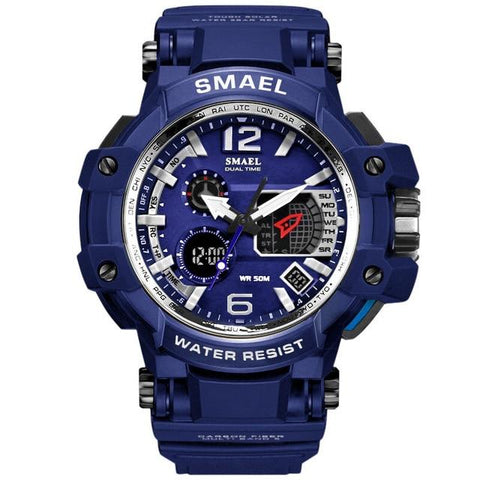 Image of SMAEL Men Watches White Sport Watch LED Digital 50M Waterproof Casual Watch S Shock Male Clock 1509 Relogios Masculino Watch Man