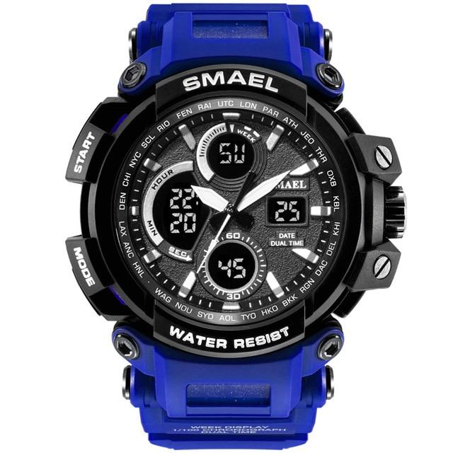 SMAEL Sport Watches Men Watch Waterproof LED Digital Watch Male Clock 1708B Men Watches