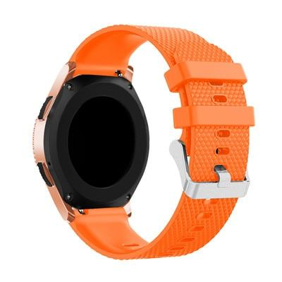 Image of Smart Accessories 20mm Wrist Band For Samsung Gear Sport S2 Silicone Replacement Band Strap For Samsung Galaxy Watch 42mm Band