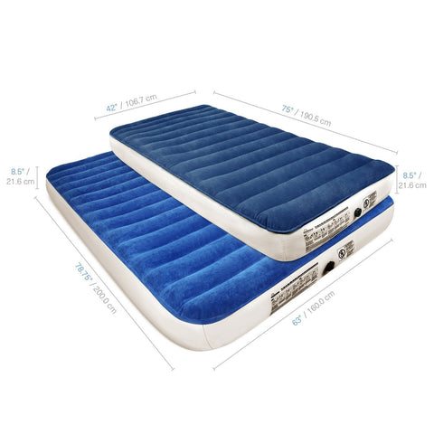 Image of SoundAsleep Camping Series Air Mattress With Eco-Friendly PVC - Included Rechargeable Air Pump
