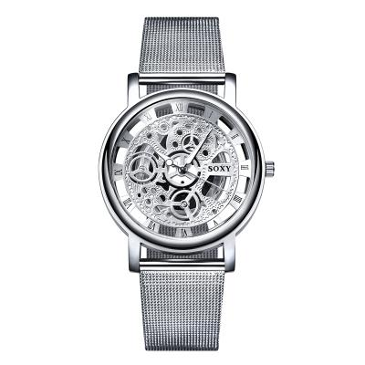 Image of SOXY Skeleton Wrist Watch Men Watch Mens Watches Top Brand Luxury Hollow Out Men's Watch Clock Saati Relogio Masculino Relojes