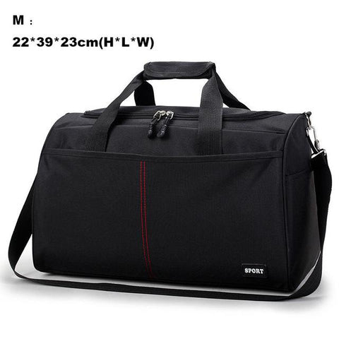 Image of Sports Traveling Bag Training Gym Bags For Men Woman Travel Durable Handbags Outdoor Shoulder Gymtas Sac De Sport XA398WA