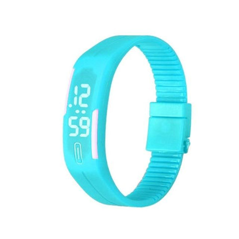 Image of Superior Men Women Digital Led Sport Watch Casual Silicone Watches Wristwatch Bracelet