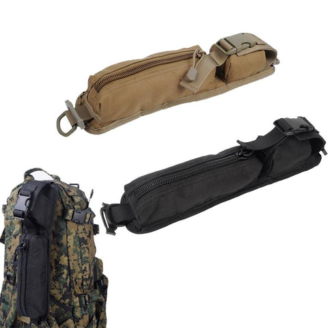 Image of Tactical Military Molle Sundries Accessory Bags Medical First Aid Kit Backpack Shoulder Strap Pouch Outdoor EDC Tool Bag Belt