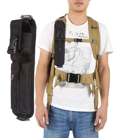 Image of Tactical Molle Accessory Pouch Backpack Shoulder Strap Bag Hunting Tools Pouch Black