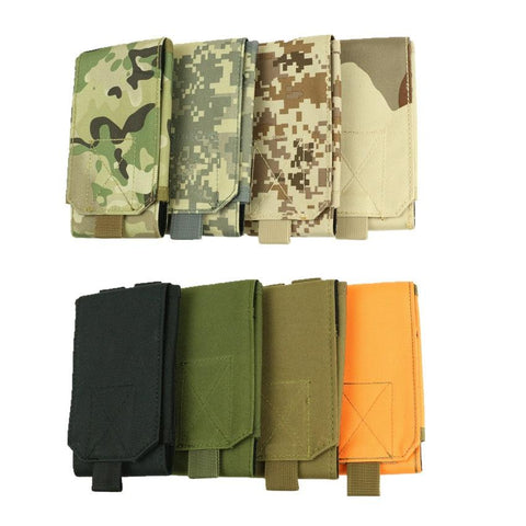 Image of Tactical Phone Bag Camouflage Waist Bags Men Military Molle Backpack Hanging Sport Pouch Waterproof Hunting Belt Bags