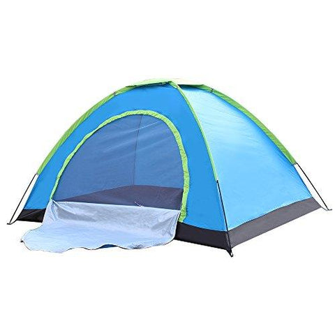 Image of Techcell 2 Persons Outdoor Camping Instant Tents Waterproof Single-layer (B)