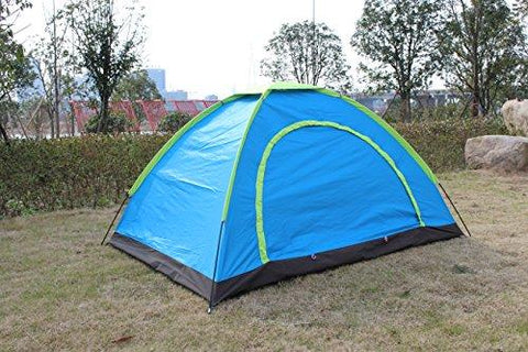 Techcell 2 Persons Outdoor Camping Instant Tents Waterproof Single-layer (B)