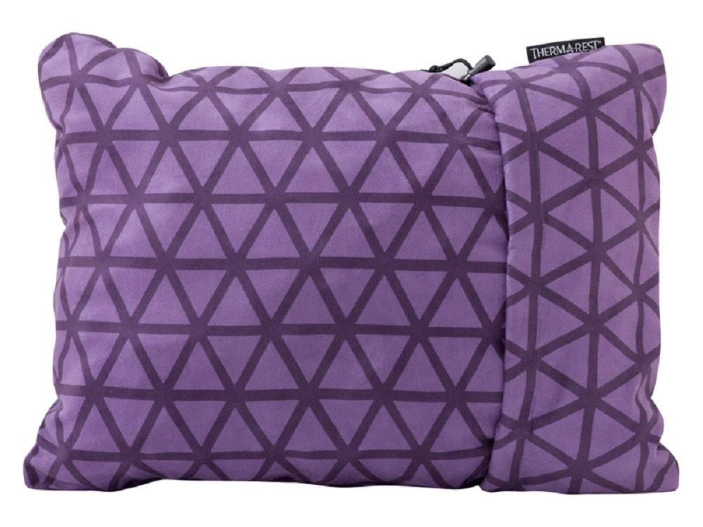 "Therm-A-Rest Compressible Travel Pillow For Camping, Backpacking, Airplanes And Road Trips, Amethyst, XLarge: 16.5"" X 27"""