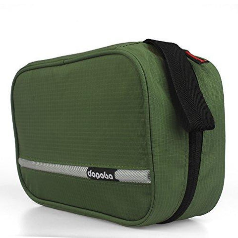 Travel Toiletry Bag Portable Hanging Water-Resistant Wash Bag For Travelling, Business Trip, Camping (army Green)