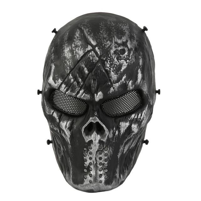 Typhoon Camouflage Hunting Accessories Face Mask Ghost Tactical Outdoor Military CS Wargame Paintball Airsoft Skull Full Face Mask