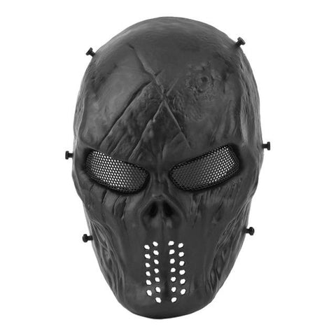 Image of Typhoon Camouflage Hunting Accessories Face Mask Ghost Tactical Outdoor Military CS Wargame Paintball Airsoft Skull Full Face Mask