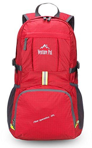 Image of Venture Pal Lightweight Packable Durable Travel Hiking Backpack Daypack