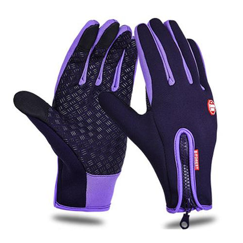 Image of Waterproof Cycling Gloves Full Finger Touch Screen Men Women Bike Gloves MTB Outdoor Sports Winter Bicycle Gloves