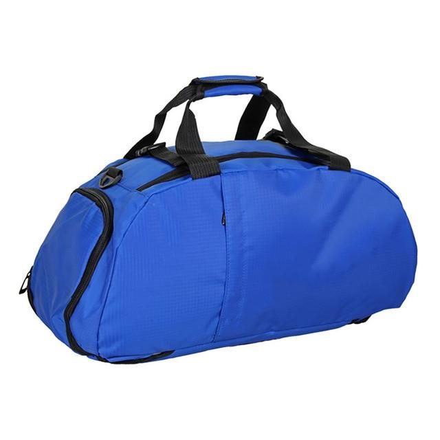 Waterproof Fitness Sports Bag Men Women Outdoor Fitness Bag Portable Gym Handbag Ultralight Yoga Bag Outdoor Gym Sports Backpack