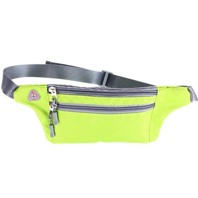 Waterproof Outdoor Functional Running Waist Bag Sport Packs For Music With Headset Hole-Fits Smartphones Bike Bag