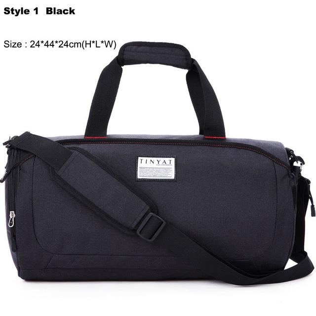 Waterproof Shoulder Sports Gym Bag For Shoes Bags Women Fitness Yoga Training Men