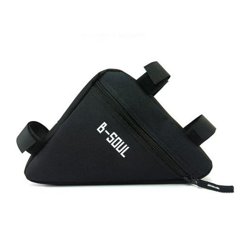 Image of Waterproof Triangle Pouch Cycling Bicycle Bags Front Tube Frame Bag Saddle Holder MTB Mountain Bike Cellphone Accessories