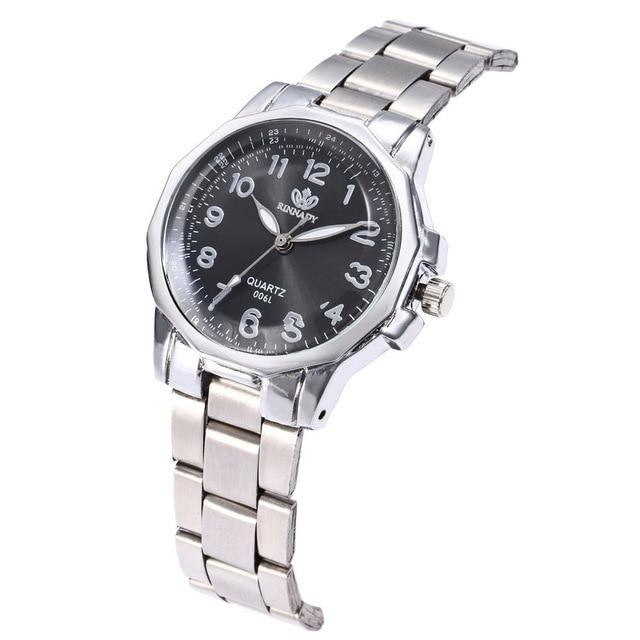 Women's Watches Luxury Elegant Ladies Stainless Steel Wrist Watch Female Clock Analog Quartz Round WristWatches Relogio Feminino