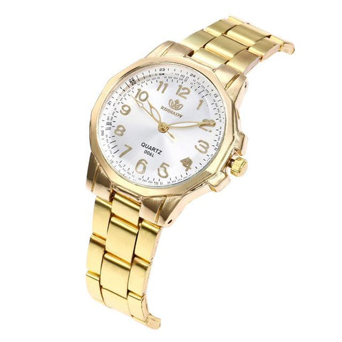 Image of Women's Watches Luxury Elegant Ladies Stainless Steel Wrist Watch Female Clock Analog Quartz Round WristWatches Relogio Feminino