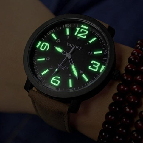 Image of YAZOLE Luminous Wrist Watch Men Watch Sport Watches Luxury Men's Watch Men Clock Erkek Kol Saati Relogio Masculino Reloj Hombre