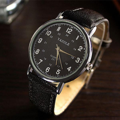 Image of YAZOLE Quartz Wrist Watch Men Watches Top Brand Luxury Famous Wristwatch For Male Clock Relogio Masculino Relog Men