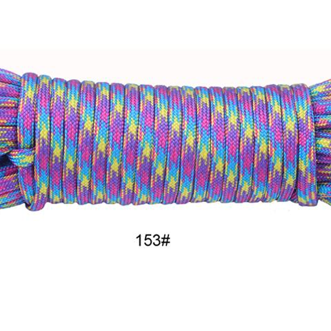 Image of YoouPara 250 Colors Paracord 550 Rope Type III 7 Stand 100FT 50FT Paracord Parachute Cord Rope Survival Kit