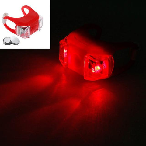 Image of Zacro Bicycle Light Rechargeable LED Taillight USB Rear Tail Safety Warning Cycling Light Portable Flash Light Super Bright