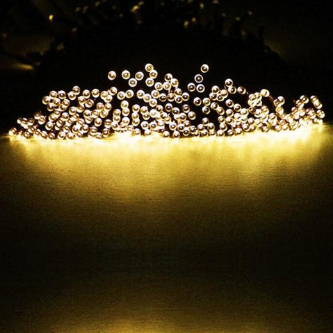 Image of ZINUO 12M 100LEDs Solar Light 2 Modes Led String Light Christmas Outdoor Fairy String Solar Lamp LED Garland New Year Decoration