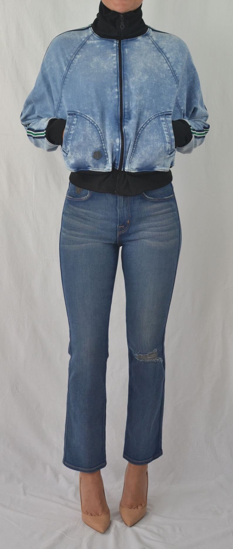 Honesty High Rise Straight Leg Jean in Trust Wash