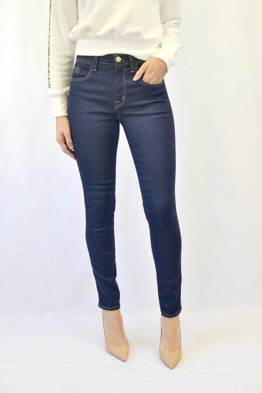 TRUTH HIGH RISE SKINNY JEAN VIVE WASH