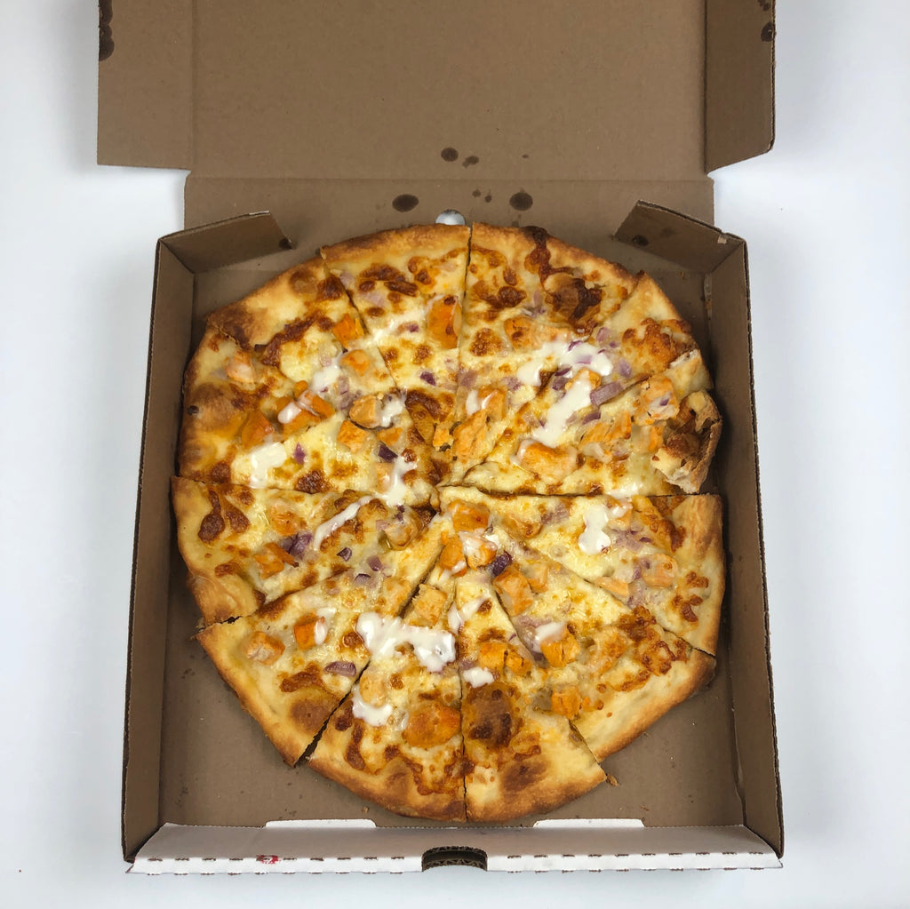 New York Style Buffalo Chicken Pizza