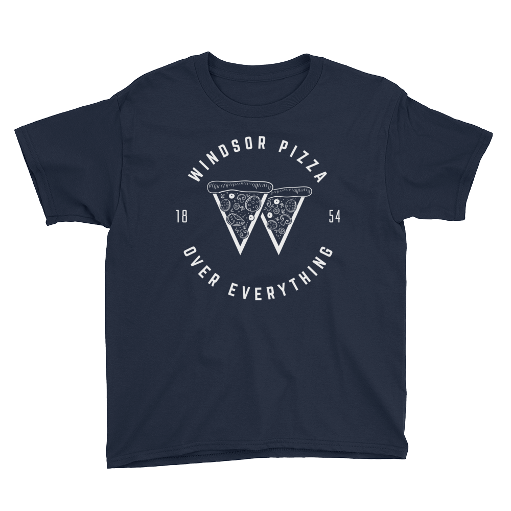 WPOE Kids White Print T-Shirt