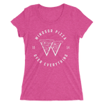 WPOE Ladies' White Print T-Shirt