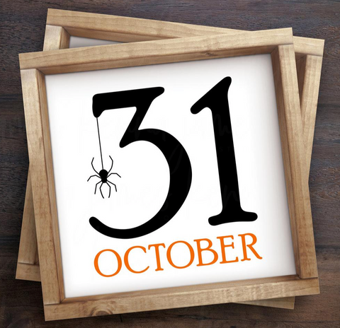 31 Halloween Sign