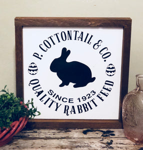 P. Cottontail & Co.