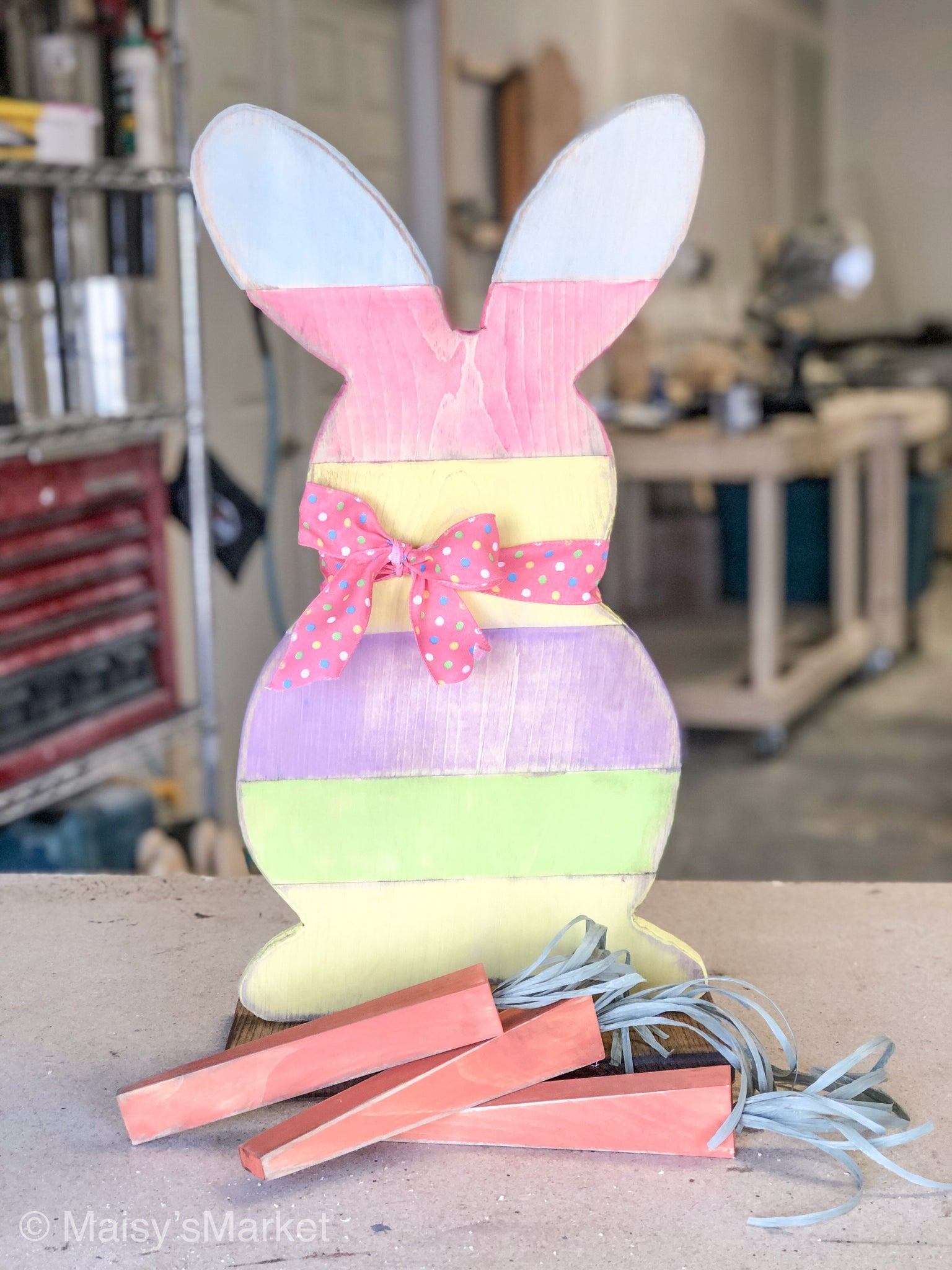 Easter Craft Event! Bunny and 3 Carrots! *4/12/19 ONLY