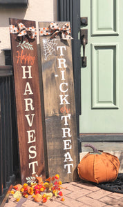 Reversible Fall Porch Sign