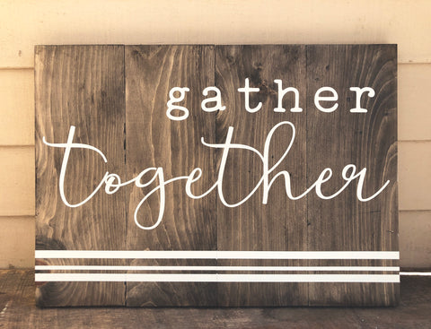 Gather Together - Large
