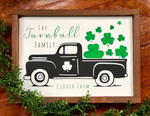 St. Patty's Day Truck